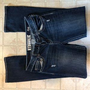 Hydraulic jeans. Bailey slim bootcut. 13/14